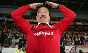 Vincent Tan, Cardiff City owner
