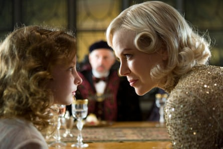 Lyra and Mrs. Coulter from the film version of Philip Pullman's novel, The Golden Compass.