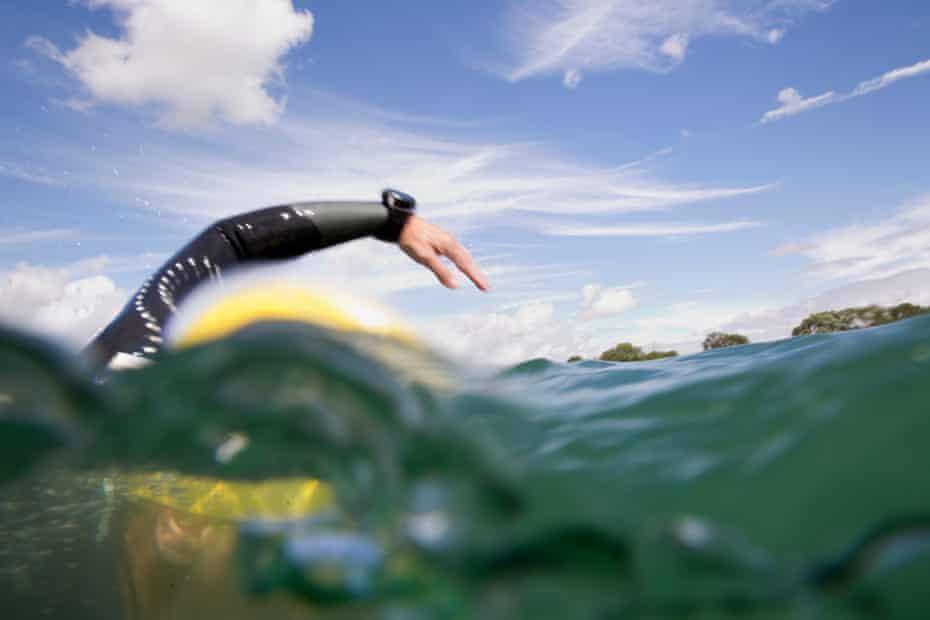 Susan Gardner swimming