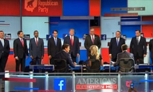 Sky News' livestream of the Republican debate