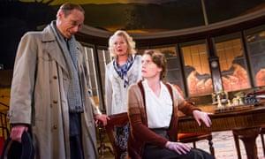 Justine Mitchell (Eva Ardsley), Stella Gonet (Mrs Ardsley) and David Annen (Doctor Prentice).