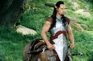 Patrick Kake as a centaur in the film version of CS Lewis' novel, The Lion, the Witch and the Wardrobe.