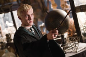 Tom Felton as Draco Malfoy in Harry Potter and the Half Blood Prince