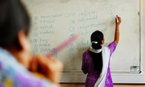Esol (English for speakers of other languages) courses