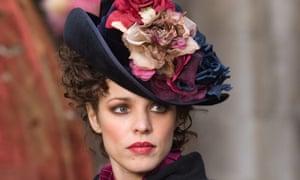 RACHEL McADAMS as Irene Adler in the Warner Bros. Pictures film version of Sherlock Holmes.