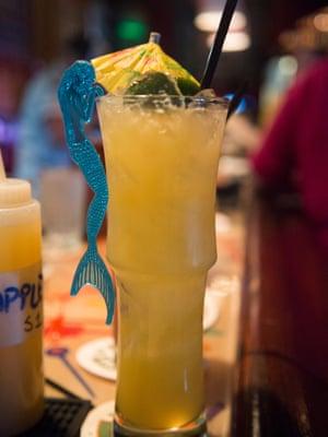 Tiki cocktail.