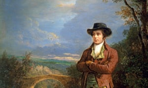 A portrait of Robert Burns by Alexander Nasmyth.