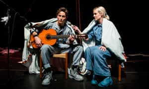 Tim Graybourn and Bryony Kimmings in Fake It 'Til You Make It.