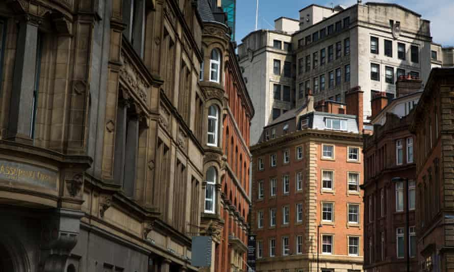 Office buildings in Manchester city centre