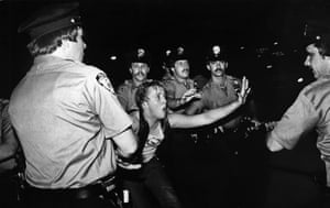 The 1969 Stonewall riots, as seen in Kate Davis and David Heilbroner's documentary Stonewall Uprising.