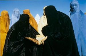 A scene from Mohsen Makhmalbaf's Kandahar.