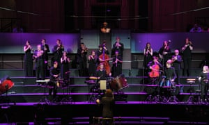 The Aurora Orchestra and the BBC Proms Youth Ensemble conducted by Nicholas Collon performing the world premiere of Anna Meredith's Smatter Hauler from memory at the BBC Proms.