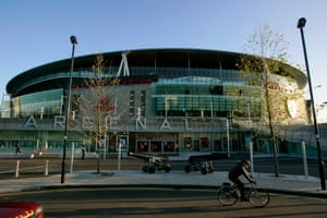 Arsenal's Emirates stadium was opened in 2006, with 60,000 seats and at a cost of £390m.