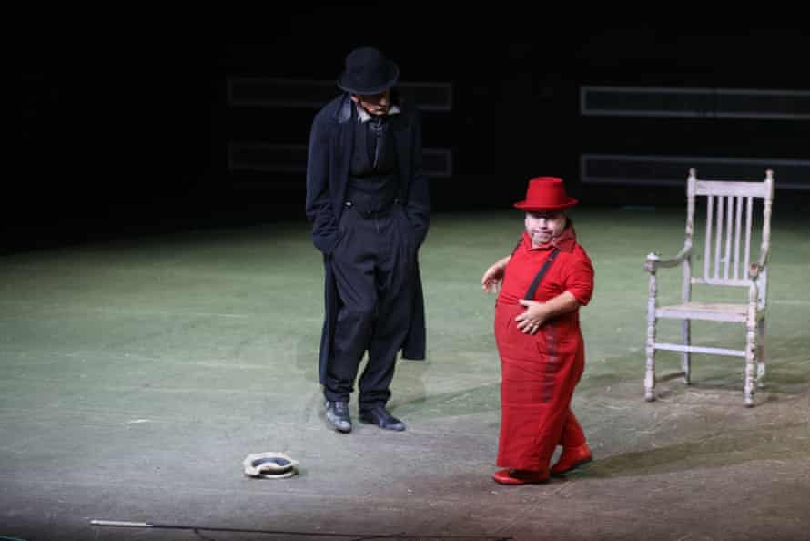 'Archetypal tensions': the Berliner Ensemble's acclaimed Waiting for Godot.