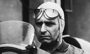 Juan Manuel Fangio, seen here in 1951, was thought to be childless but two men are both now claiming to be his son.