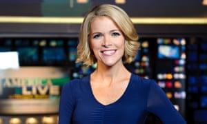 Megyn Kelly on set at Fox News studios in New York
