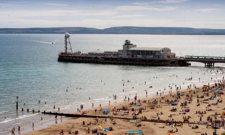 Bournemouth's main pier.
