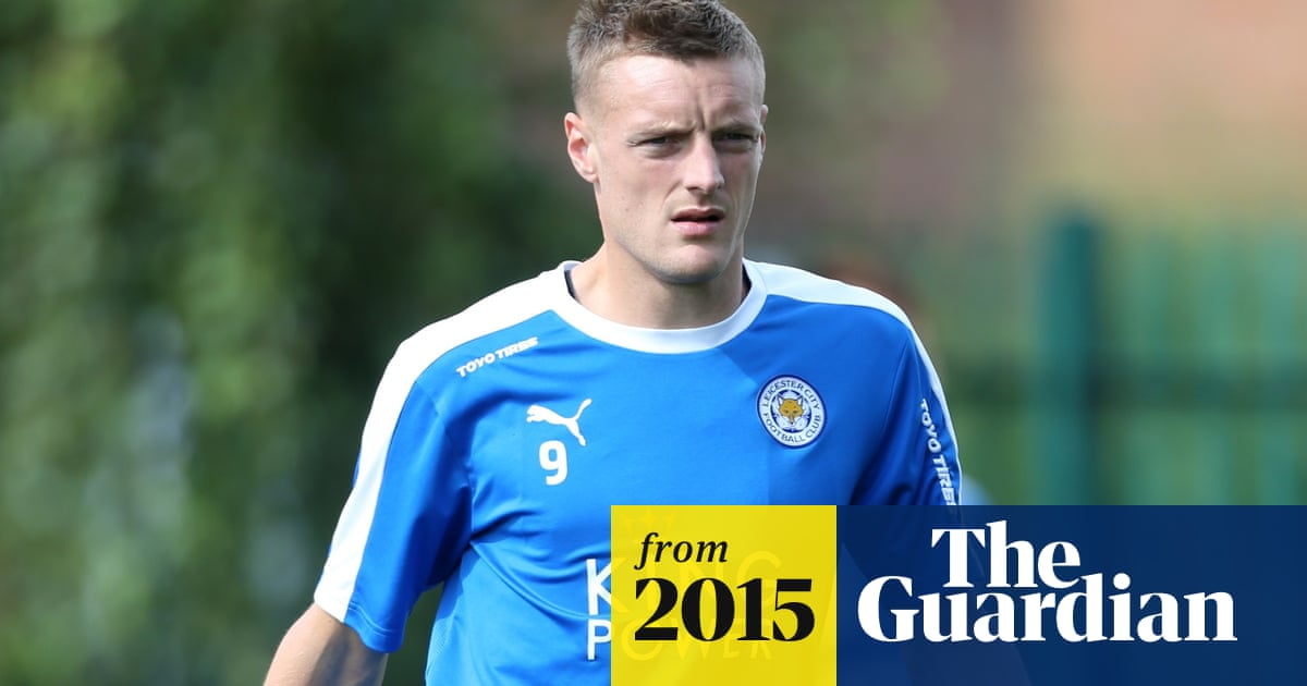 8929a98d6 Leicester's Jamie Vardy faces club investigation over racist language claims
