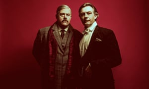 Phill Jupitus as Conan Doyle and Alan Cox as Houdini in Impossible