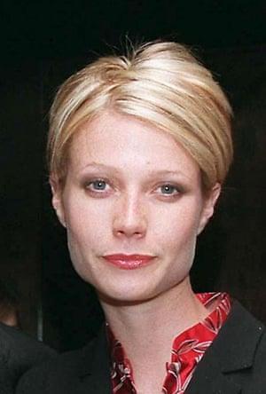 Original sweeper: Gwyneth Paltrow in 1997