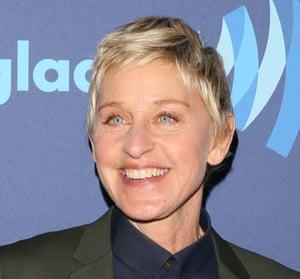 Short sweep: Ellen DeGeneres in March 2015