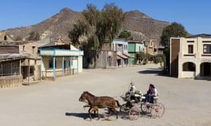 The Fort Bravo film set turned Western-styled theme park.
