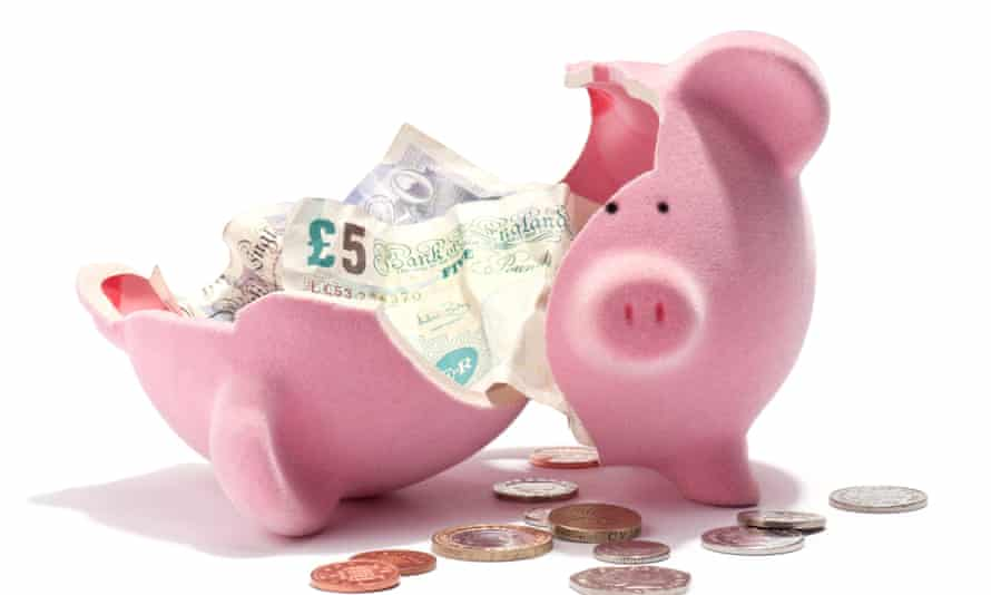 piggybank full of money