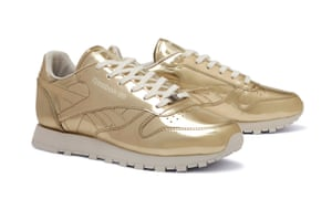 Gold Reebok Classics x Sandro trainers – buy of the day  86b4da59cf68