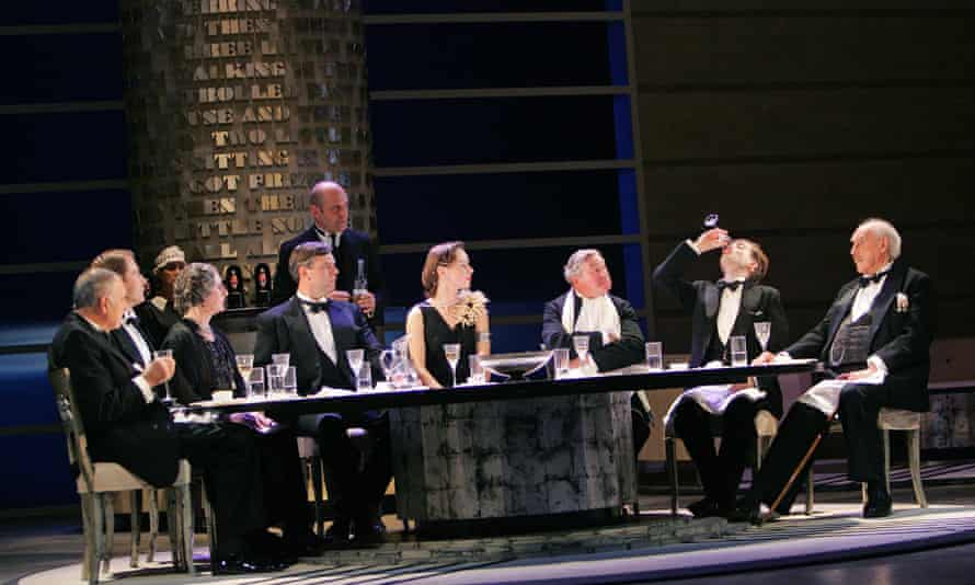 a scene from the 2005 adaptation of And Then There Were None at the Gielgud theatre in London.