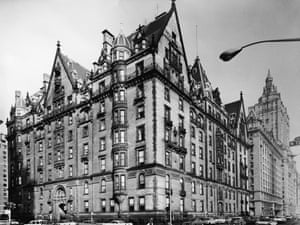 Completed in 1884, the Dakota was New York's first luxury apartment building.