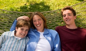 Jessica Lahey with sons Finn and Ben