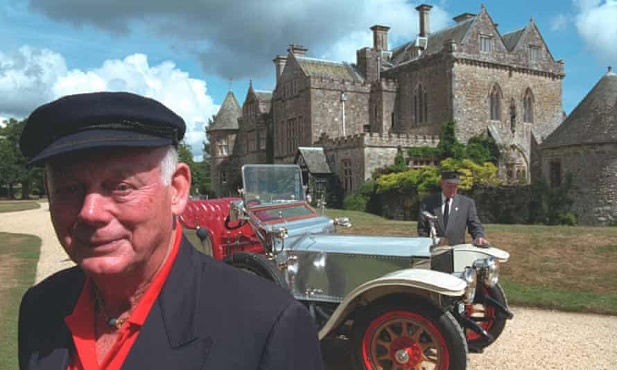 Lord Montagu in 2001