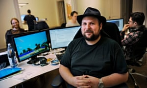 Markus Persson ... a rich man's lot is not a happy one.