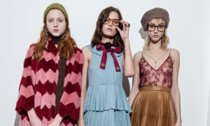 Models for Gucci autumn/winter