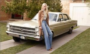 Lara Stone in the H&M ad