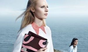 Pointy collars at Dior