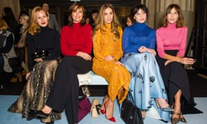 The polo-neck crew at London fashion week