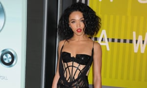FKA twigs at the MTV Video Music awards.