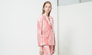 Pink Topshop suit