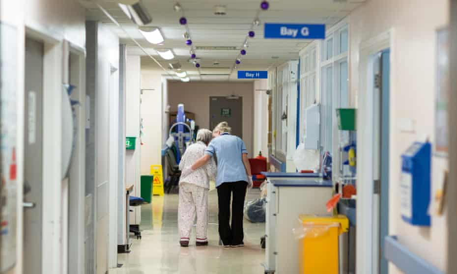 DME (Department of Medicine for the Elderly) ward. Addenbrooke's Hospital in Cambridge