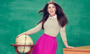 Mayim Bialik: 'Being a research professor seemed like what I wanted, but once I had my first child I realised how much time I wanted to be with him.'