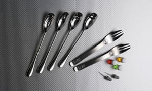 Textured and armoatic cutlery for the discerning shoveller.