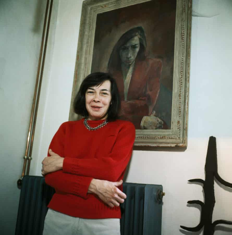 Patricia Highsmith at her home in Paris in 1970.