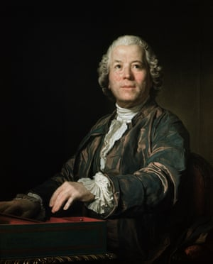 Christoph Willibald von Gluck at the Spinet, 1775 by Joseph Siffred Duplessis.