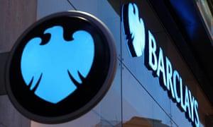 A Barclays bank.