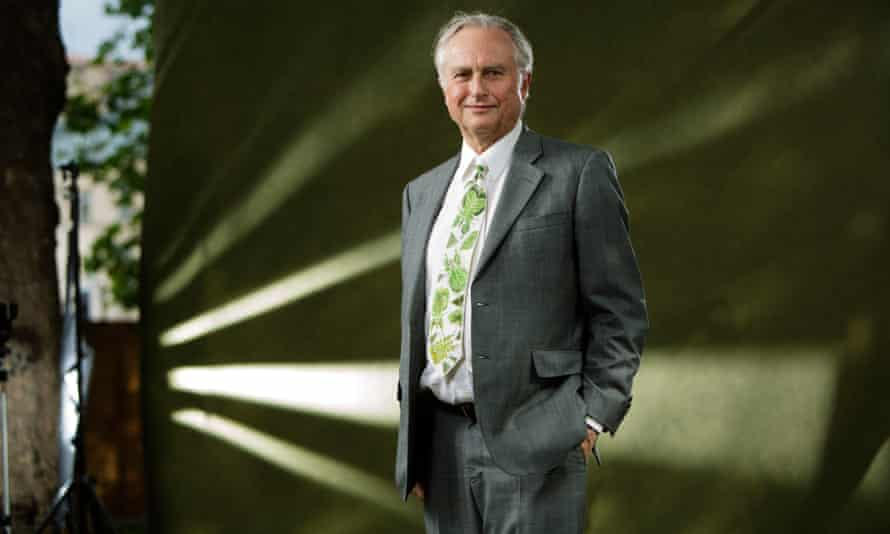 Richard Dawkins at the Edinburgh International Book Festival in 2014.