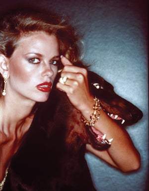 Christie Brinkley, the pin-up of the era, shows her metal in one of Von Wangenheim's most controversial - and cult - shoots. A dog's teeth around your forearm? Not for the faint-hearted.