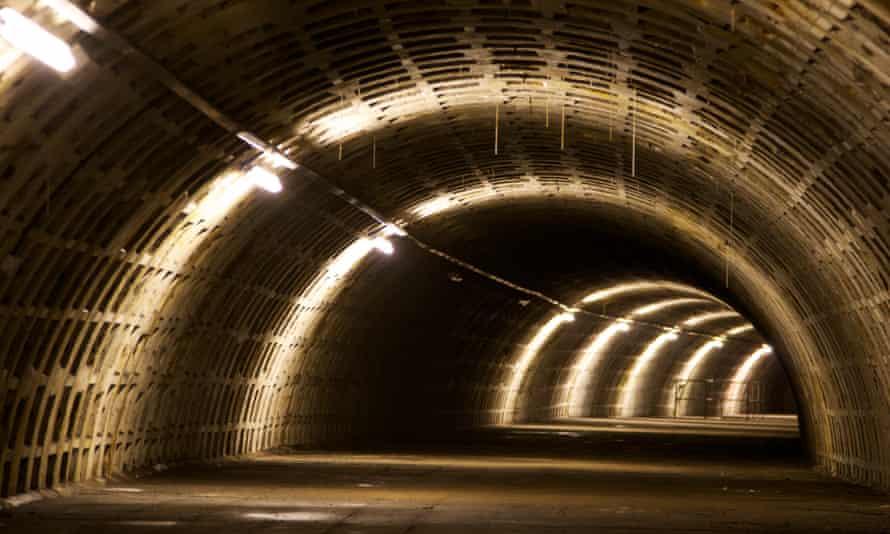 Growing Undeground tunnel