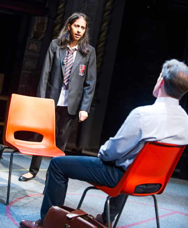 Nikki Patel as Alia with Brydon.