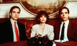 Geneviève Bujold stars alongside Jeremy Irons as Beverly and Elliot Mantle in Dead Ringers.